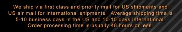 Blackbeard For Men Shipping Info