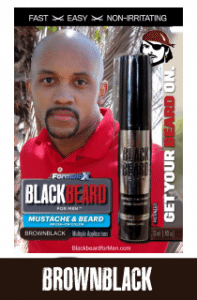 Blackbeard For Men Brown Black Color Pack