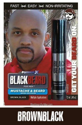 Blackbeard for Men Brownblack Beard Brush-on Beard Color