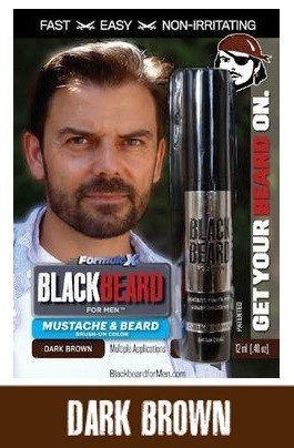 Blackbeard for Men Black Beard Color