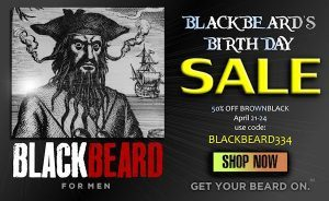 Blackbeard bday sale art