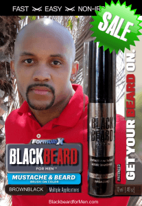 Blackbeard for Men Brownblack Sale 2016