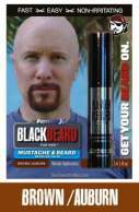 Blackbeard for Men Brown-Auburn Beard Color