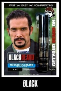 Blackbeard For Men Black