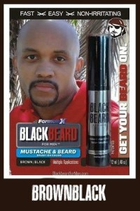 Blackbeard For Men Brownblack