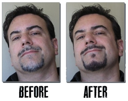 Blackbeard For Men Before and After Two