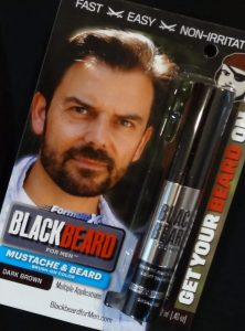 Blackbeard for Men instant, brush on beard dye Dark Brown shade