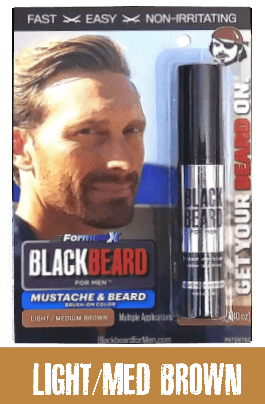 Blackbeard For Men Light / Medium Brown
