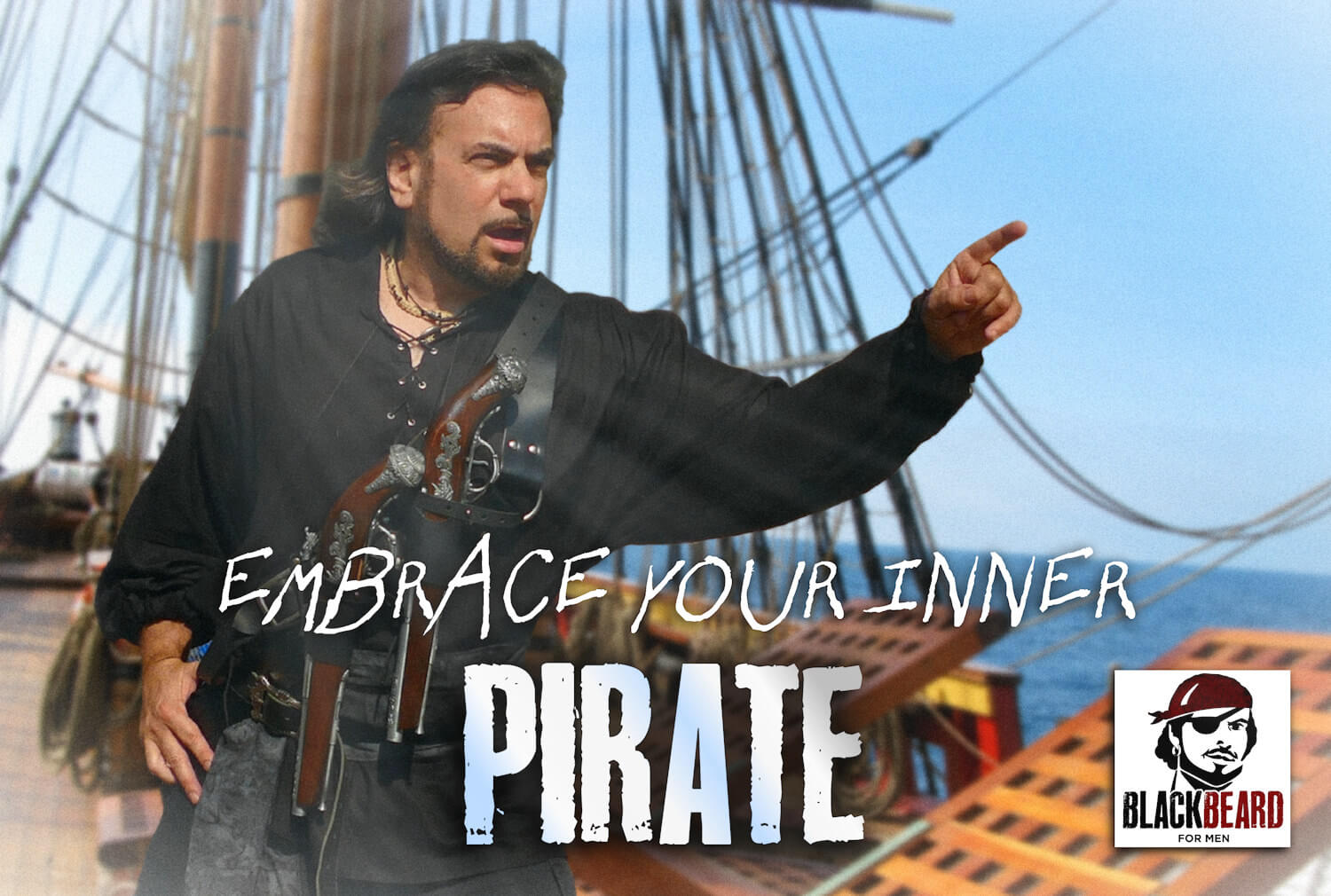 Embrace Your Inner Pirate