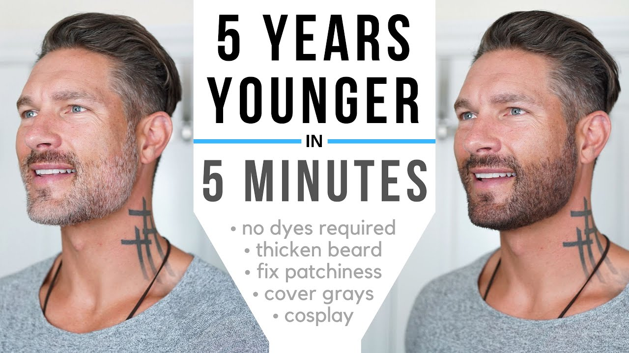 look 5 years younger in 5 minutes